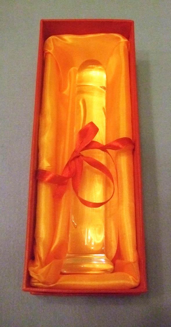 6.5 Glass Dildo