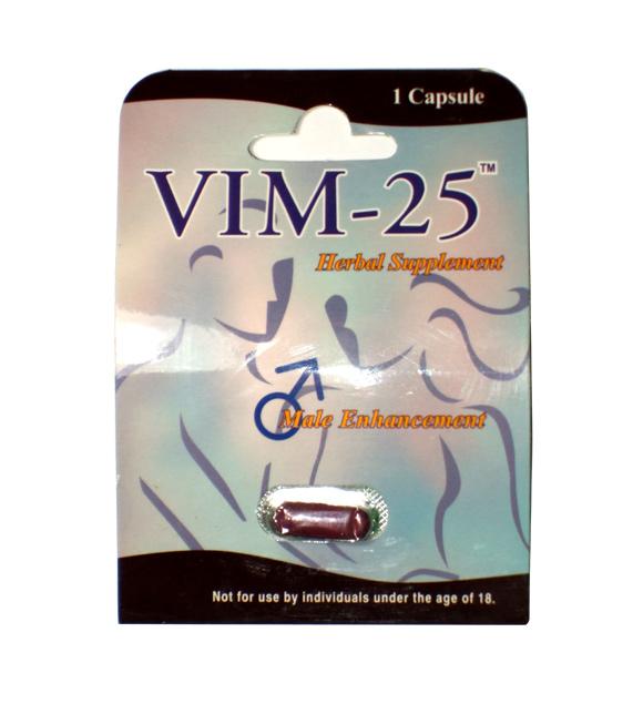 1 X VIM-25 Sexual Enhancer
